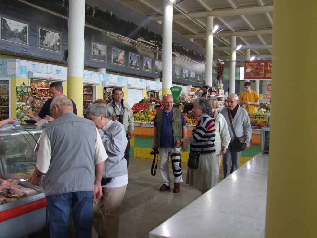 Au marché à Yaroslavl