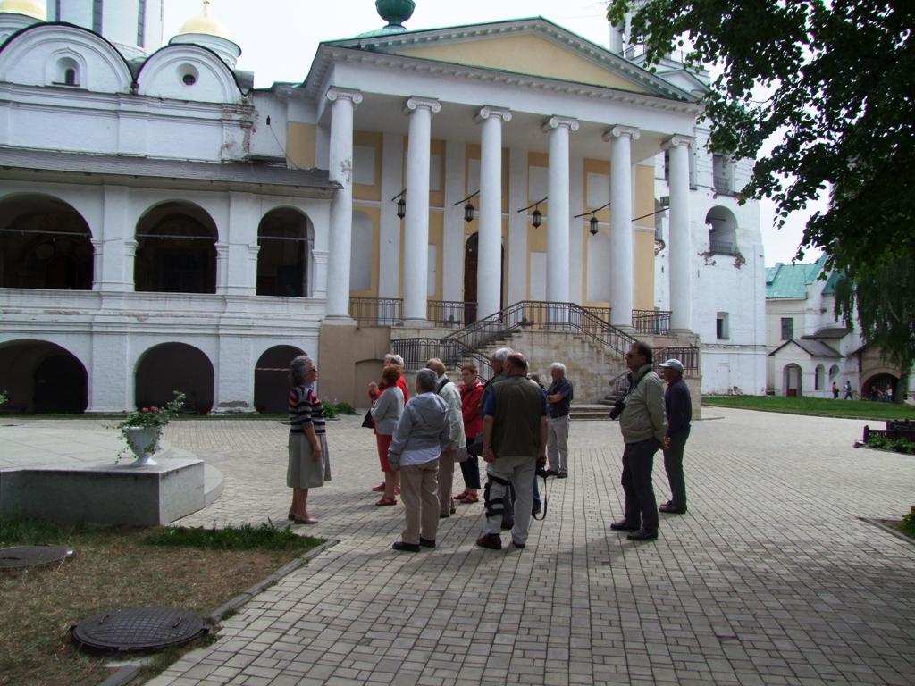 Au monsatère de la Transfiguration, Yaroslavl