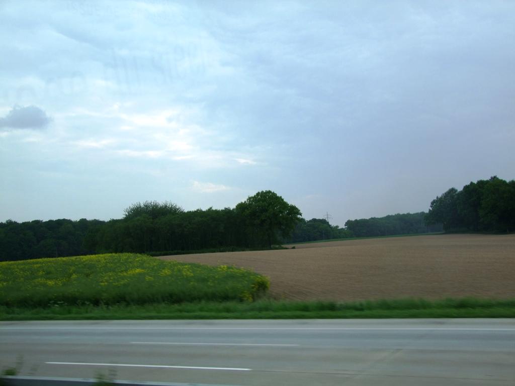 Dans la grande plaine d'Allemagne du Nord.