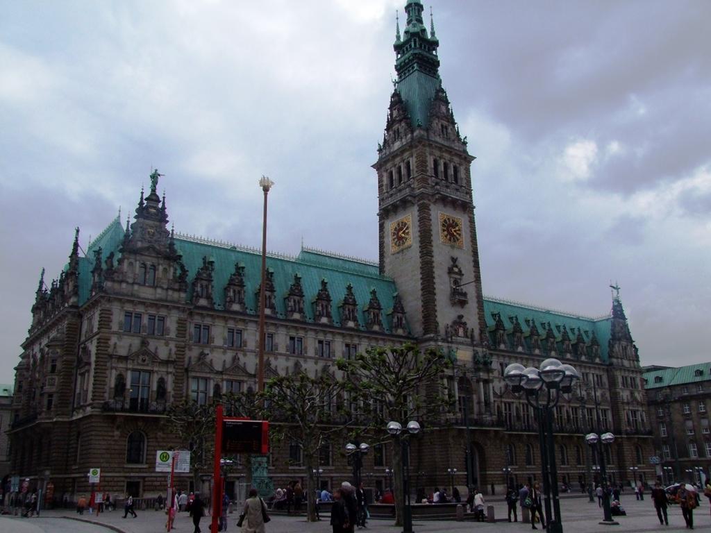 Hôtel de ville de Hambourg.