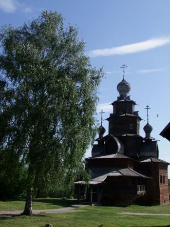 L'Eglise, une remarquable architecture en bois.
