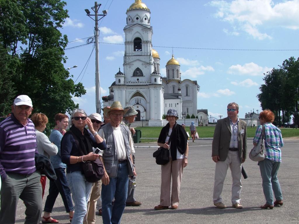 La cathédrale de la Dormition-de-la-Vierge, à Vladimir.