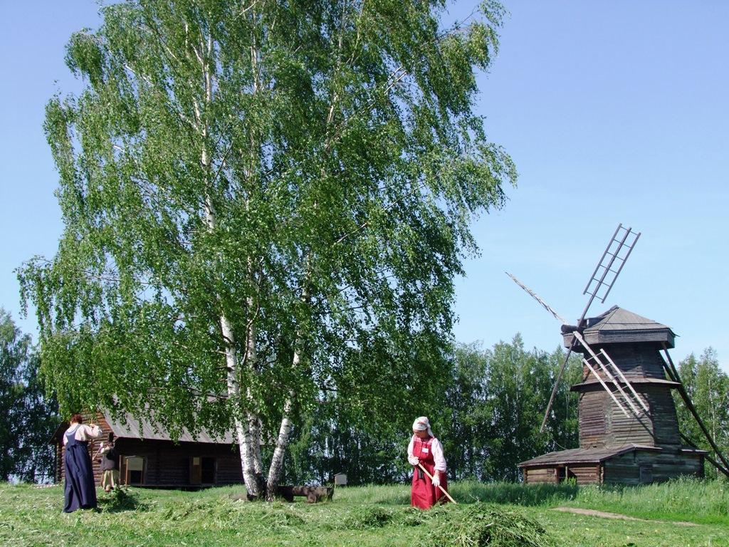 La vie paysanne à Souzdal.