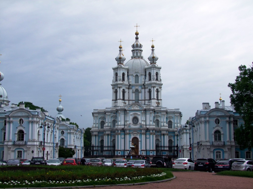 Le Couvent Smolny.