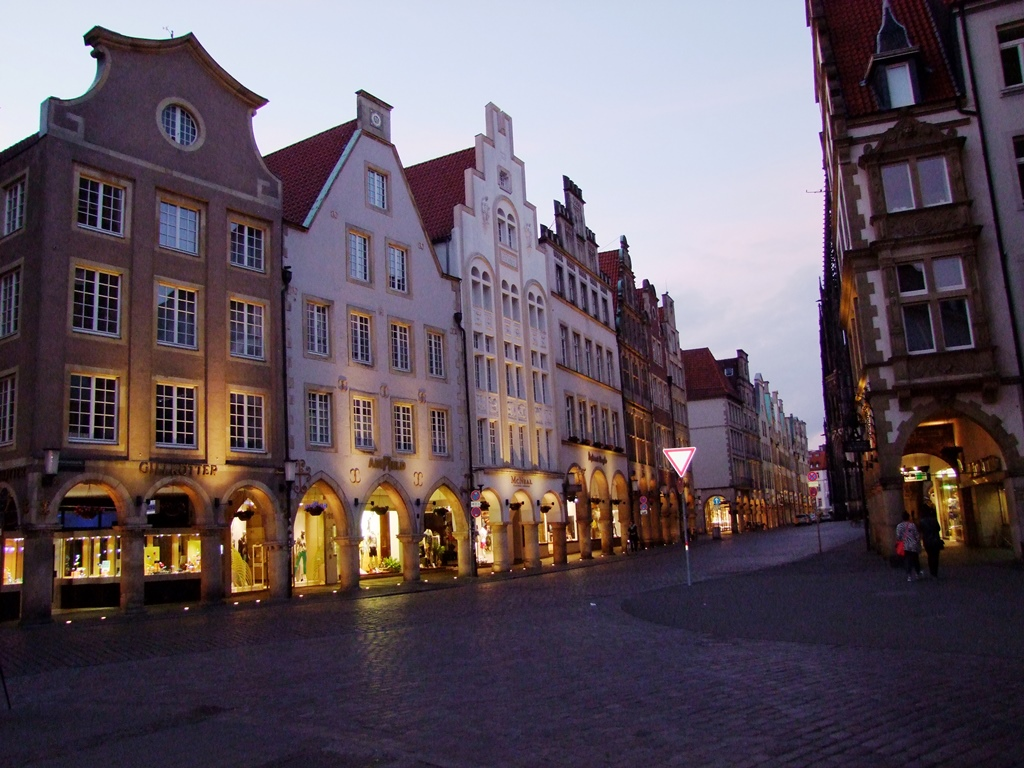 Le Prinzipalmarkt à Münster