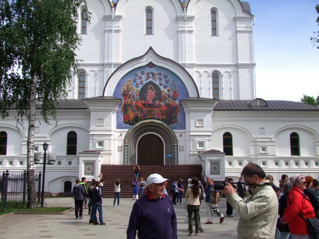 L'entrée au monstère de la Transfiguration, Yaroslavl