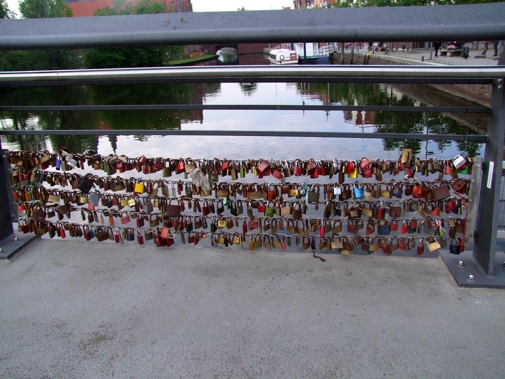 Les cadenas des amoureux à Lübeck