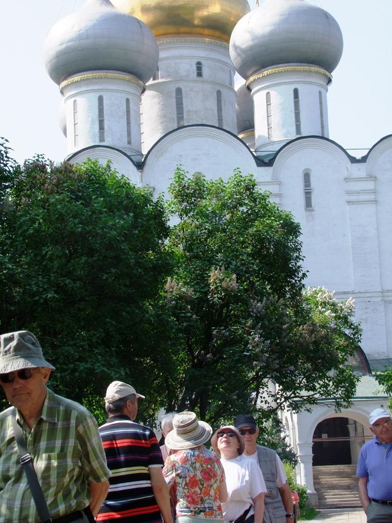 Les domes de Notre Dame de Smolensk