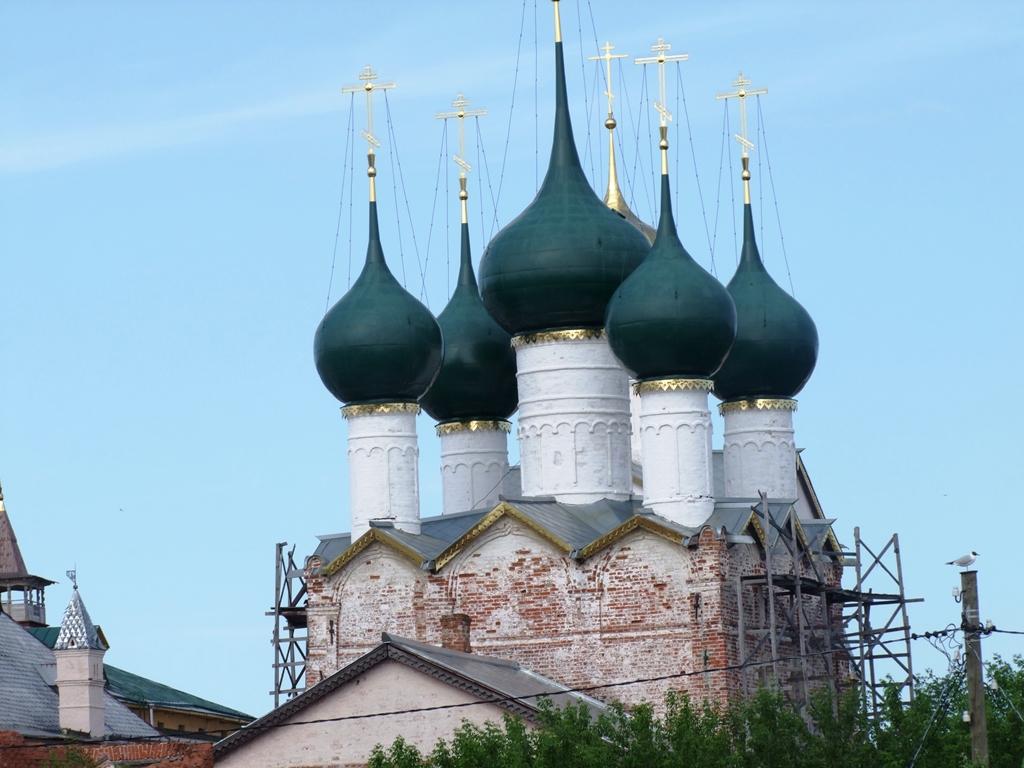 Les domes de la Cathédrale de la Dormition