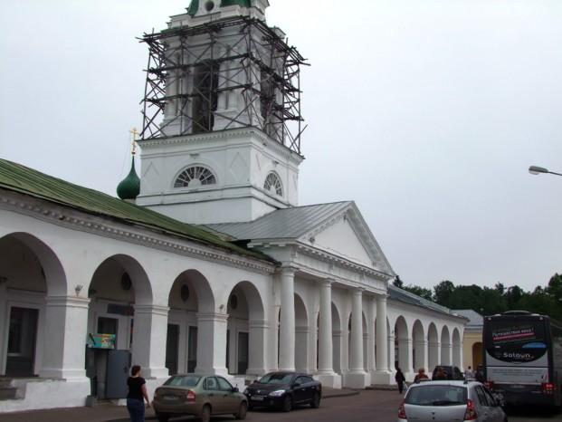 Les galéries à Kostroma