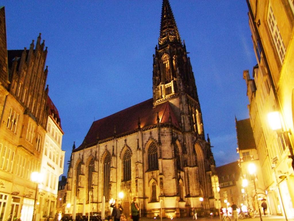 Münster, l'eglise de St Lambert