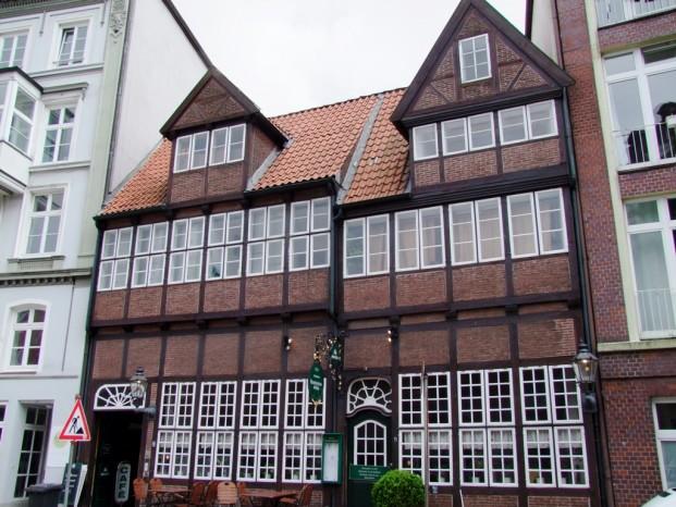 Maison ancienne à Hambourg