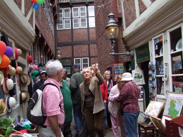 Notre guide à Hambourg Sabine nous raconte l'histoire de ce vieux quartier