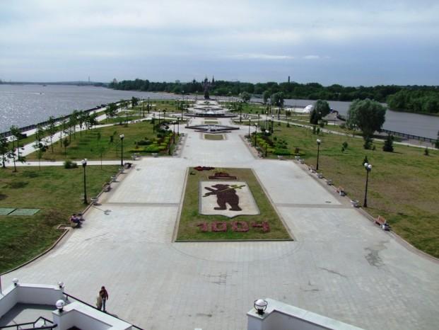 Strelka – c'est le lieu où Kotorosl se jette dans la Volga