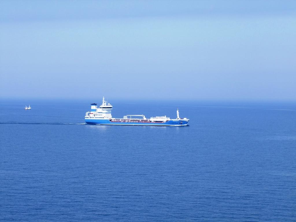Sur la mer Baltique.