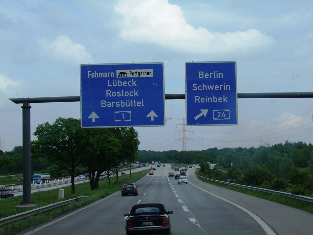 Sur la route de Lübeck.