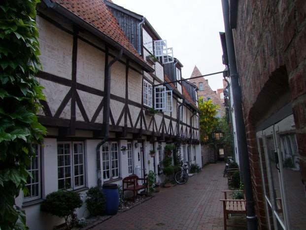 Vieille ruelle à Lübeck