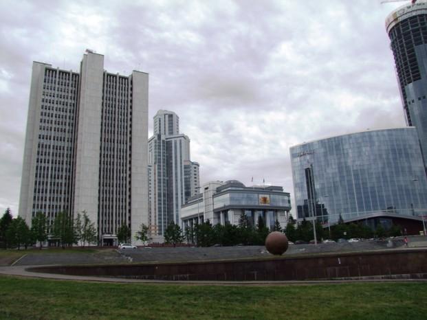 A Ekaterinbourg, des batiments administratives.