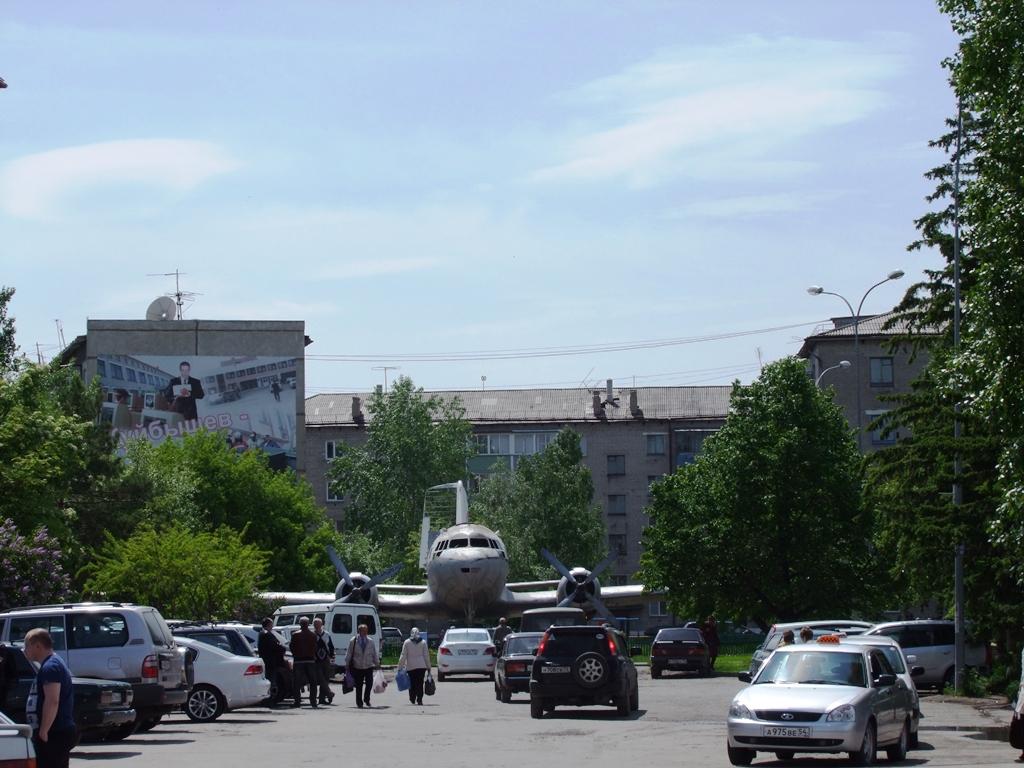 Au centre de la ville Kouïbychev.