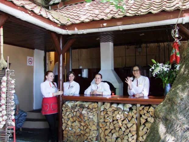 Au restaurant Podkovka à Ekaterinbourg.