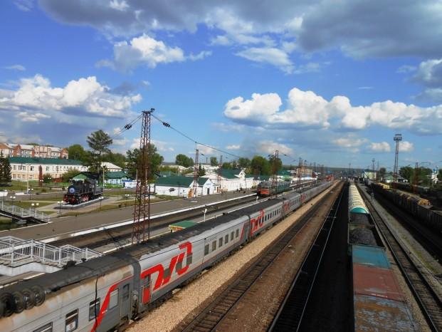 Depuis la gare Kansk.