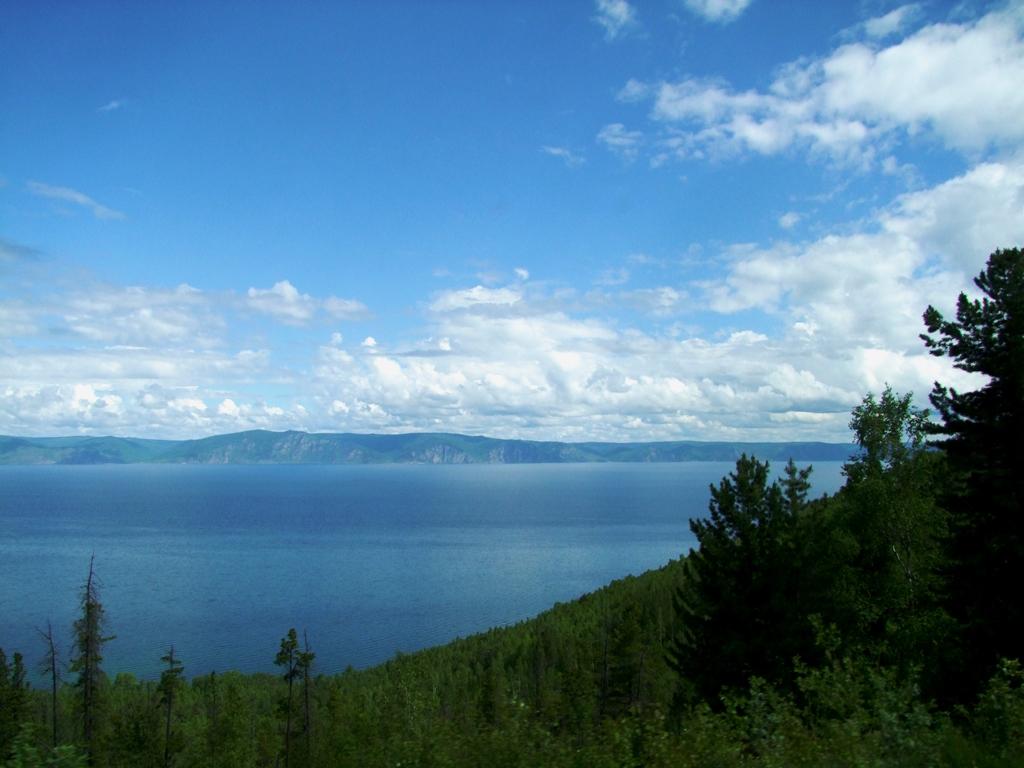 Enfin, le lac Baïkal que nous attendons impatiement.