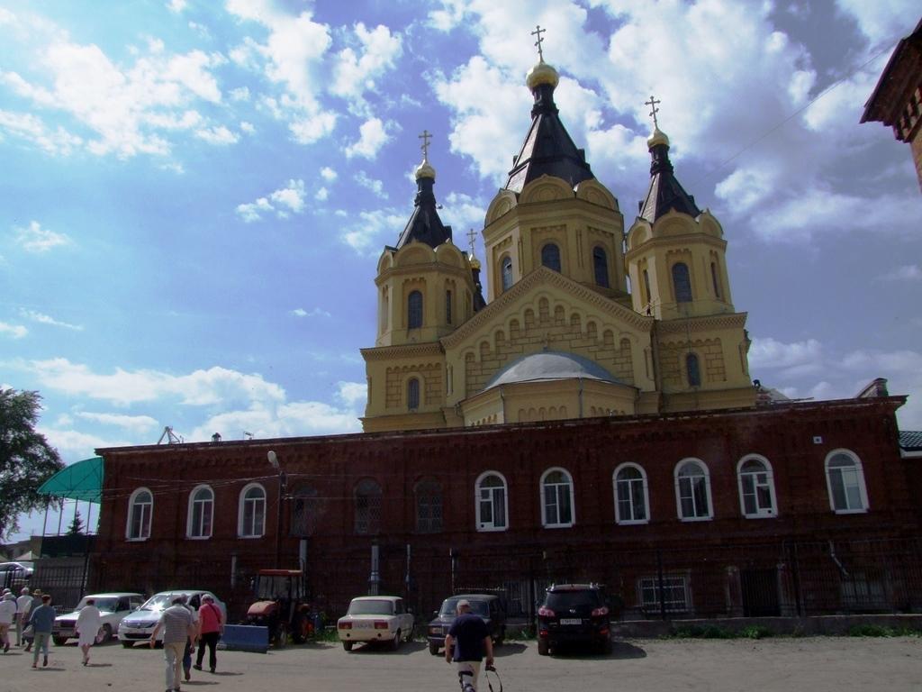 La Cathédrale Alexandriy Nevski.