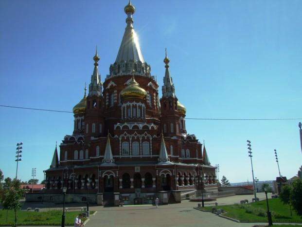 La cathédrale Alexandre Nevski.