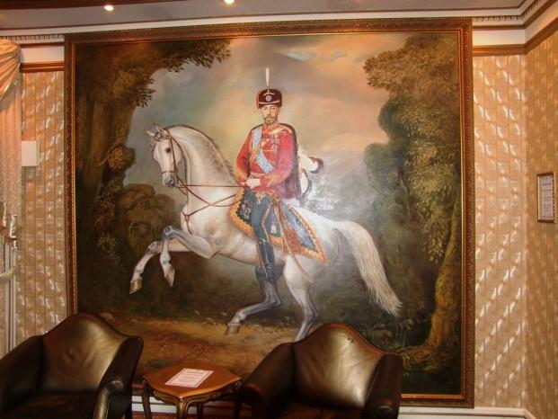 La décoration de salle.