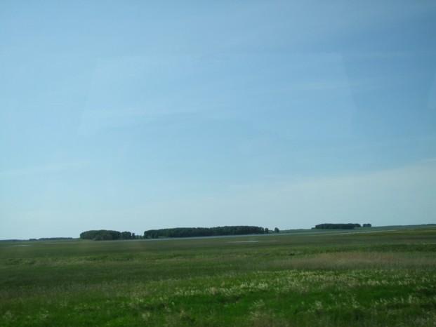 La grande plaine de Sibérie.