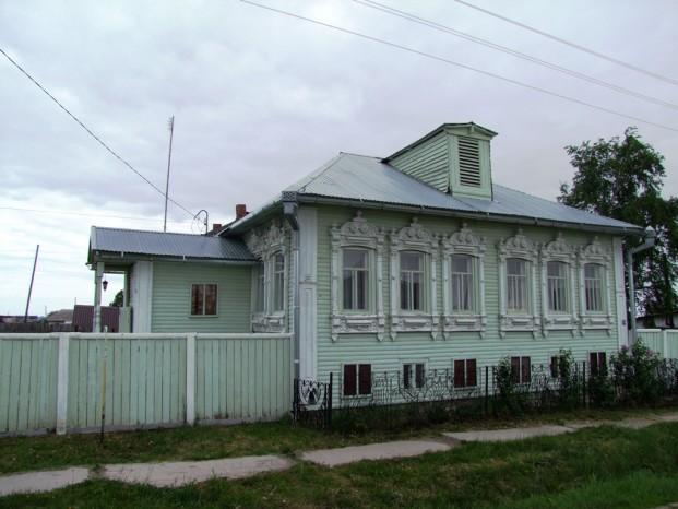 La maison-musée de Raspoutine à Pokrovskoïe.
