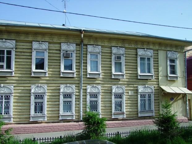 La maison traditionnelle au centre d'Omsk .