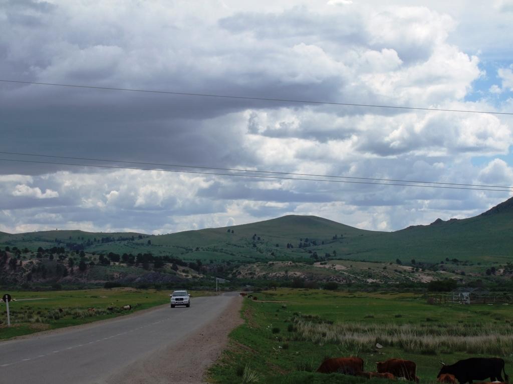 La nature de la Mongolie.