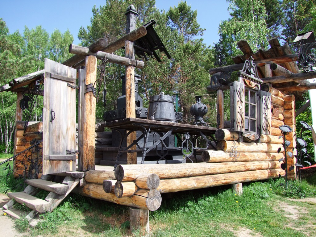 L'atelier du forgeron à Talsy.