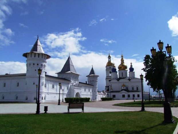 Le Kremlin de Tobolsk.