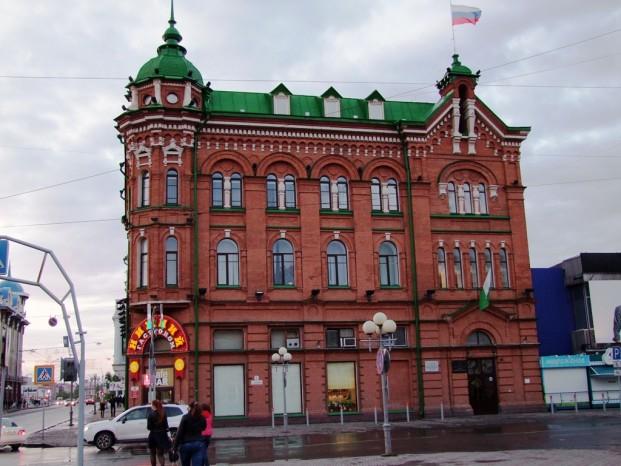 Le centre historique de Tomsk, les bâtiments de 19 siècle.