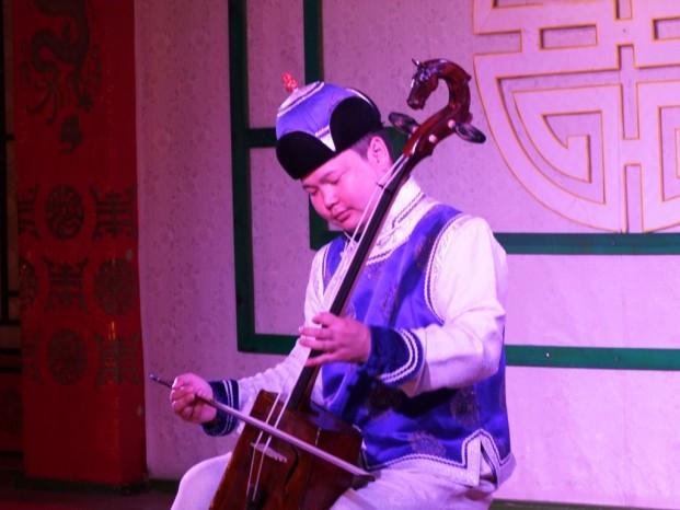 Le folklore mongol.