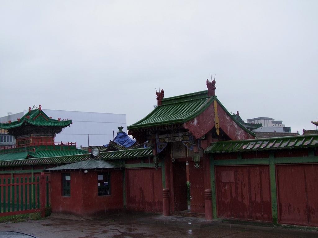 Le palais d'hiver Bogada Khan.