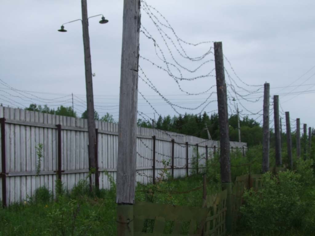 Le territoire du Goulag.