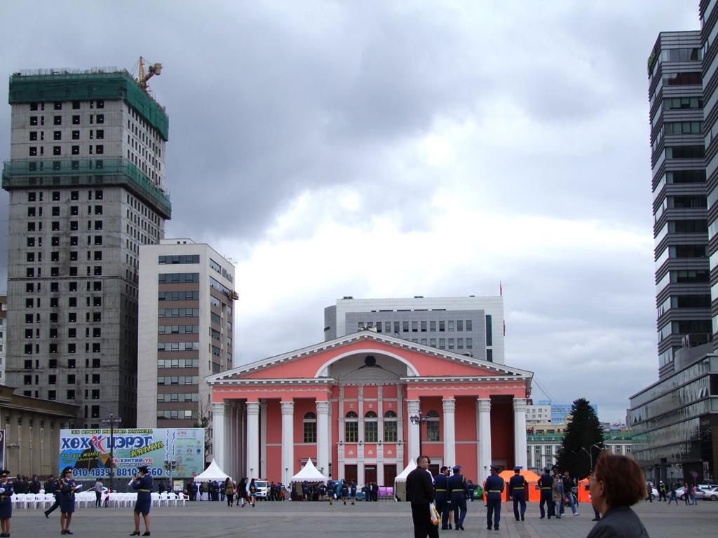 Le théâtre d'Oulan Bator.