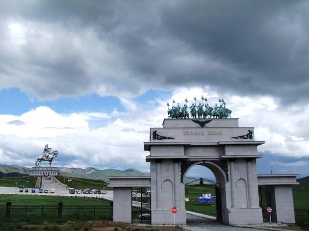 L'entrée au mémorial et au musée.