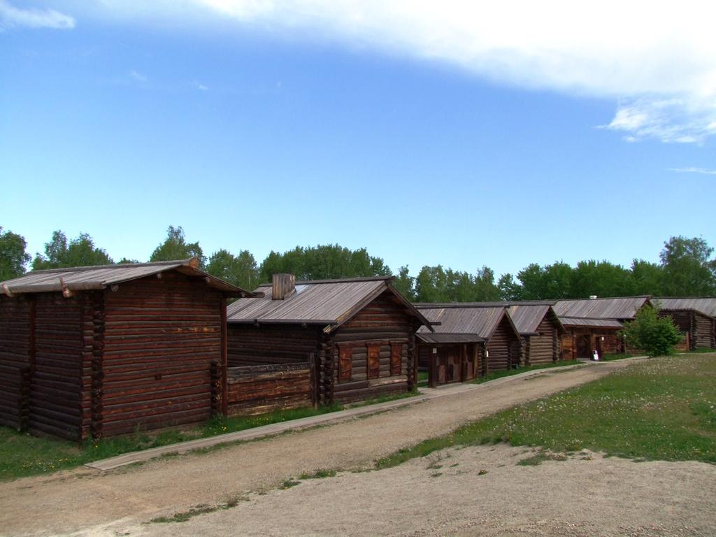 Les maison en bois de Talsy.