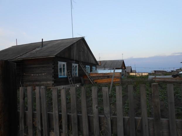 Les maisons à Mogocha.