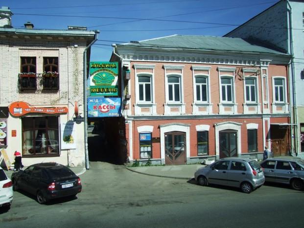 Les maisons d'Ijevsk.
