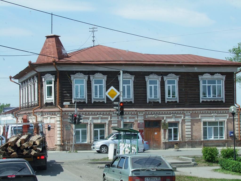 Maisons typiques à Kouïbychev.