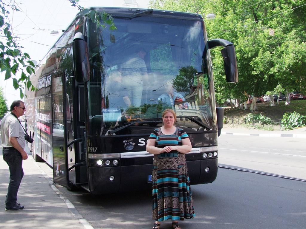Natacha, notre guide à Nijniy Novgorod