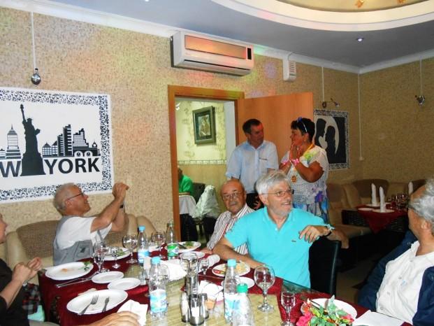 Nous souhaitons joyeux anniversaire à Galina qui célébrait son 60ème.