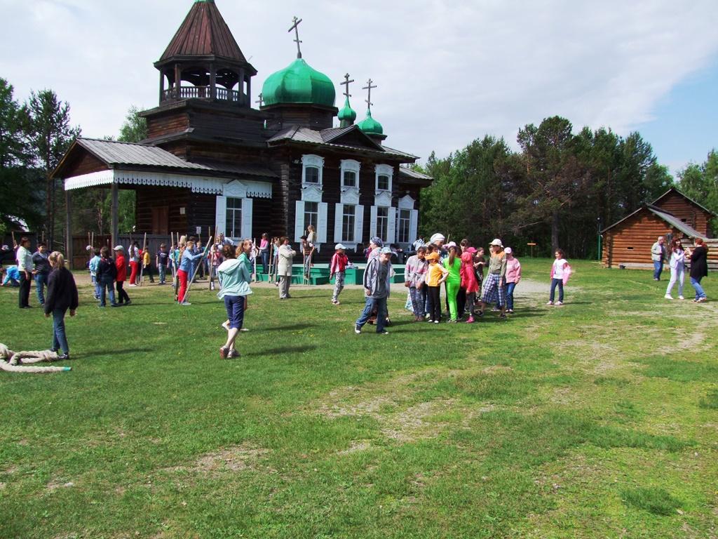 Sortie des écoliers et activités plein air.