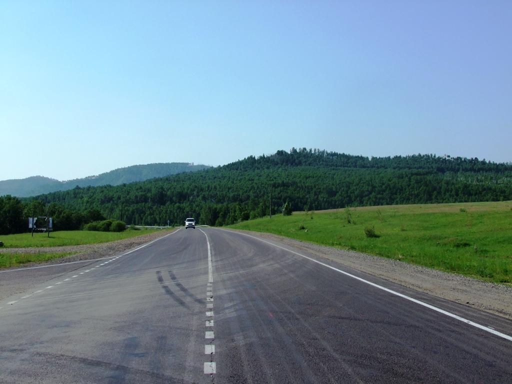 Sur la route à Magocha.