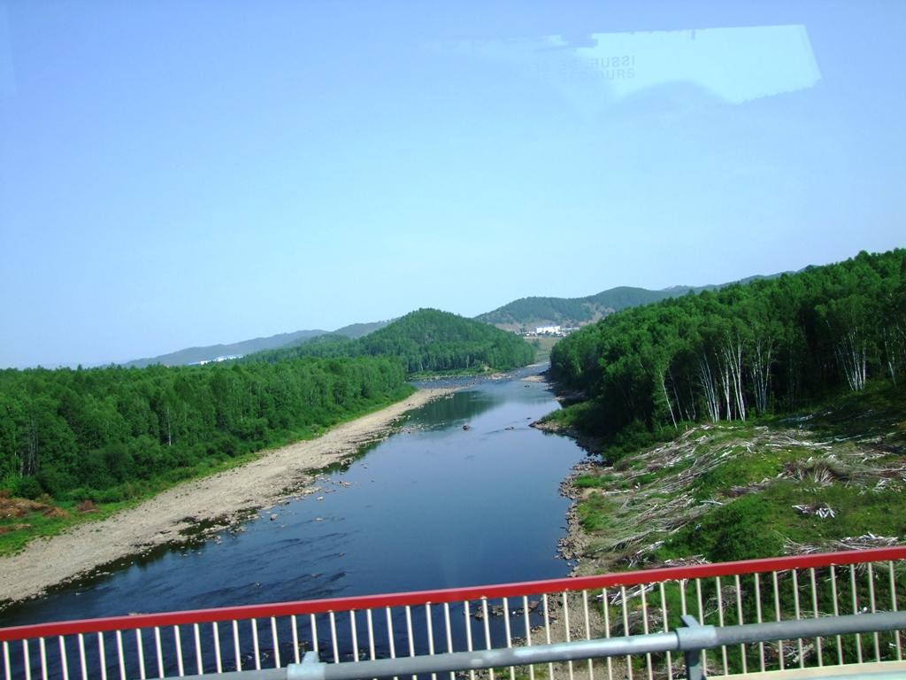 Sur la route a Skovorodino.